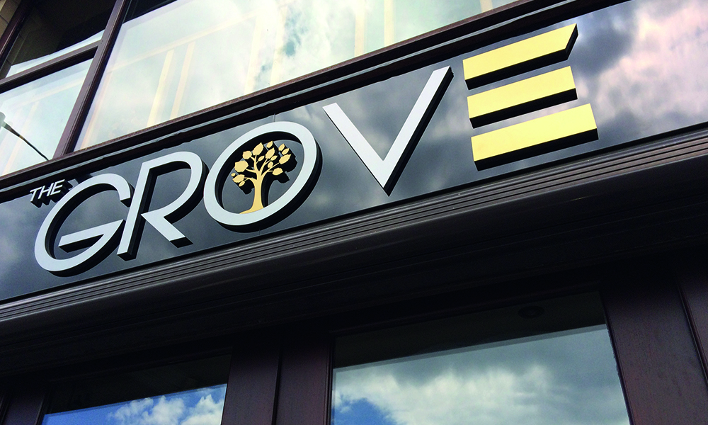 The Grove Lettering